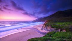 Beach Sunset 42 (philipleemiller) Tags: d800 california pacificcoast sunset longexposures beaches mountains bigsur