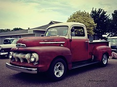 Happy Truck Thursday (novice09) Tags: truckthursday truck pickup ford 5152 unrestored htt ipiccy photoscape backtothefifties carshow