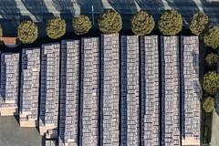 Bricks For Sale (Aerial Photography) Tags: by fs obb 11042016 5sr13386 baum baumreihe bavaria bayern bäume farbe fotoklausleidorfwwwleidorfde grafik grau grün kreise laubbaum linien luftaufnahme luftbild p1 parallelen puttenhausen rechteck reihen rudelzhausen schwarz ziegelrot aerial black brickred circles color colour deciduoustree foliagetree graphicart graphics green grey leaftree lineoftrees lines negro outdoor parallels rectangle rowoftrees rows tree trees verde rudelzhausenlkrfreising bayernbavaria deutschlandgermany deu