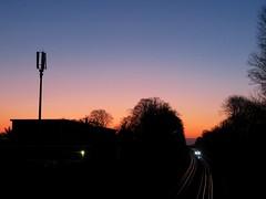 Eastcote Station (portemolitor) Tags: london hillingdon eastcote underground station sstock train s stock