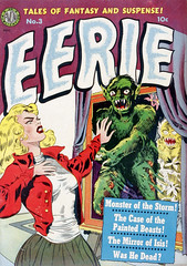 Eerie Comics #3 (1951), cover by Wally Wood (gameraboy) Tags: eeriecomics comics horror vintage art illustration comicbook comicbookart 3 1951 cover wallywood 1950s