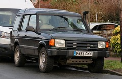 P564 GKM (Nivek.Old.Gold) Tags: 1996 land rover discovery tdi 5door 2495cc hunters norwich