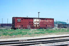 CB&Q Class XM-4C 49414 (Chuck Zeiler 54) Tags: cbq class xm4c 49414 burlington railroad boxcar box car freight eola train chuckzeiler chz