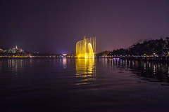 The Music Fountain (yc4646) Tags: architectural architecture ecology ecosystem environment environmentalism fountain hills lake land landscape landscaping light lighting nature night reflection reflective scenery structures water hangzhou zhejiang china