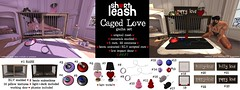 .:Short Leash:. Caged Love gacha set (Short Leash // original mesh & virtual kink) Tags: shortleash gacha bdsm babygirl puppyplay kitten kittenplay puppy rlv xxx