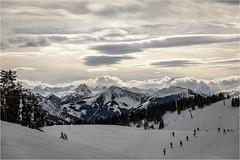 Wintertime . Tyrol (:: Blende 22 ::) Tags: austria österreich wintertime snow mountains ski fog clouds white bluesky canoneos5dmarkiv holiday tirol tyrol wilderkaiser söll sun star landscape canonef2470mmf28liiusm