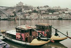 Porto Gondolas (max tuguese) Tags: porto maxtuguese cityscape portugal flickr outdoor photographer life view sony gondola water river bridge building colors town urban scenery explore
