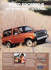 1984 Ford Bronco II V6 4WD Wagon USA Original Magazine Advertisement (Darren Marlow) Tags: 1 4 8 9 19 84 1984 f ford b bonco ii w d 4wd wagon c car cool collectible collectors classic a automobile v vehicle u s us usa united states american america 80s