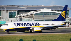 Boeing 737-8AS EI-ENA (707-348C) Tags: dublinairport dublin eidw passenger airliner jetliner boeing boeing737 ireland ryanair b738 dub ryr 2011 eiena