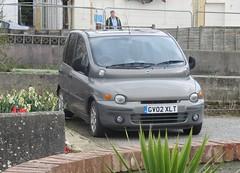 2002 Fiat Multipla 1.6 XLT (occama) Tags: 2002 fiat multipla 16 xlt mpv italian old cornwall uk gv02 gv02xlt