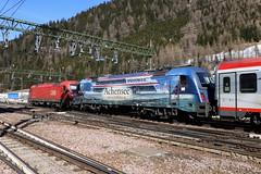 ÖBB 1216 004-2 und 1216 019-0 Achensee, Brennerpass (TaurusES64U4) Tags: öbb 1216 taurus eurocity es64u4