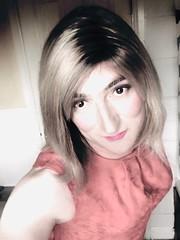 Saturday morning fun with filters ....... (emma_jay_park) Tags: reddress blonde boy2girl boytogirl mtf emmajaypark emmajay xdressing xdresser xdress crossdressing crossdresser crossdress transgirl trannies tranny trannie tgirl tgurl transformation transsexual trans tv cd