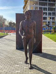 Naked man at UCD (Steven Vacher) Tags: ucd universitycollegedublin dublin ireland