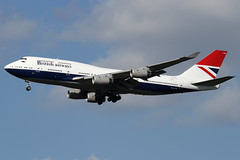 G-CIVB | British Airways Boeing 747-436 | London Heathrow EGLL/LHR | 24/03/19 (MichaelLeung213) Tags: retro ba british airways boeing 747436 747400 plane negus london heathrow
