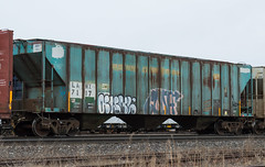 Penn Central Heritage (Joseph Bishop) Tags: penncentral pc hoppper brantford cndundassubdivision trains train track tracks railfan r rr railroad railway rail rails rolling stock