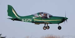 Evektor EV-97 EuroStar SL G-CJTX Lee on Solent Airfield 2019 (SupaSmokey) Tags: evektor ev97 eurostar sl gcjtx lee solent airfield 2019