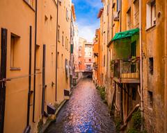 Little Venice, Bologna, Italy (alessio.vallero) Tags: architecture antique medieval river canal reno littlevenice italy bologna
