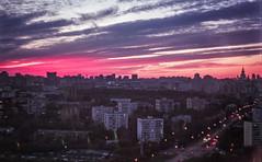 Autumn Sunset (MarieSchuchtern) Tags: film 35mm agfavista minolta