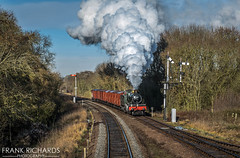 7802 | Swithland | 30th Jan '19 (Frank Richards Photography) Tags: 7802 bradley manor swithland siddings sidings gcr great central railway severn valley svr gwr western january pole panasonic fz1000 uk england steam timeline events photo charter