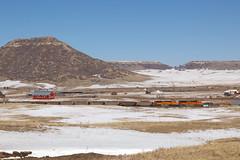BNSF 8459 Greenland 10 Feb 19 (AK Ween) Tags: bnsf bnsf8459 emd sd70ace greenland colorado jointline rattlesnakebutte train railroad