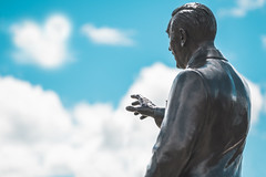 Walt (jimisPHOTOS) Tags: waltdisneyworld wideangle wdw travel themepark themeparks traveling tone clouds statue monument disney disneyworld orlando florida