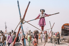 Kumbh Mela 2019 (lulejt) Tags: red indian india mumbai delhi blue texture inspiration vacation travel vintage view colors colorful grunge spiritual hindu buddhism city kumbhmela allahabad