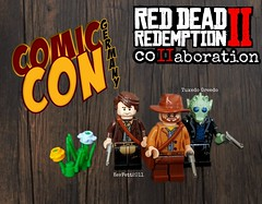 Red Dead Redemption 2 collaboration coming to the Comic Con 2019 in Stuttgart ,Germany (KevFett2011) Tags: kevfett2011 lego art hobby artist tuxedo greedo red dead redemption 2 collab ausstellung exhibition stuttgart comic con 2019 moc creation west wild landscape minifigures