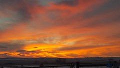 March 7, 2019 - A stunning sunrise in Colorado. (David Canfield)