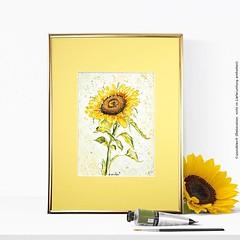 Es ist nie zu früh für Sonnenblumen 🌻🎨 (ich möchte jemanden grüßen 😊) ____ #wandklex #malerei #handgemalt #aquarell #watercolor #watercolour #illustration #Sunflower #sonnenblume #sonnenblumen #Auftragsmalerei #comission #comissionpain (wandklex Ingrid Heuser freischaffende Künstlerin) Tags: ifttt instagram wandklex ingrid hesuer art kunst etsyda dawandada etsyseller dawandaseller watercolor watercolour meetthemaker behindthescenes kunstatelier artwork malerei artist etsyfinds etsygifts etsyfindes dawandafinds aqaurell