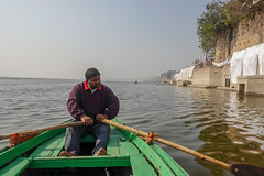 Working Harder Than I (Dallas K. Sanders) Tags: sonyrx100v boat travel 2019 varanasi india वाराणसी trip