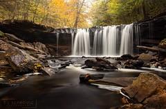 Oneida Falls (T L Sepkovic) Tags: oneidafalls waterfalls longexposure softwater paexplorations rickettsglen fallfoliage canonusa promediagear platypodtripods