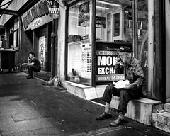 downtown (gro57074@bigpond.net.au) Tags: guyclift life struggle poor 2019 march tamron f8 2470mmf28 d850 nikon monotone monochrome mono blackwhite bw man candid candidstreet streetphotography street cbd sydney downtown