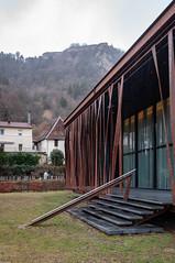 Casino (Salins-les-Bains, France)-120 (MMARCZYK) Tags: france bourgogne franche comté salins les bains architecture jura 39 malcotti roussey casino corten rouillé acier