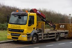 DAF LF 55.220 EEV Van Nispen Recycle B.V. met kenteken 43-BDK-5 in Haarlem 05-01-2019 (marcelwijers) Tags: daf lf 55220 eev van nispen recycle bv met kenteken 43bdk5 haarlem nederland niederlande netherlands pays bas truck trucks lkw camion vrachtwagen vrachtauto 05012019