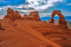 090901.091 Delicate Arch, Arches National Park, Utah (tulak56) Tags: 2009 utah archesnationalpark arch sandstone