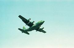 Berlin Flughafen Tempelhof 1988 C-130 Hercules US Air Force (rieblinga) Tags: berlin 1988 thf flughafen tempelhof c130 hercules us air force tag der offenen tür