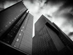 The Future is Now (Feldore) Tags: holland rotterdam architecture modern abstract de skyscraper futuristic feldore mchugh em1 olympus 1240mm mono dramatic netherlands city
