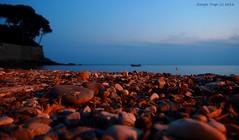Seascape (- Crupi Giorgio (official)) Tags: italy liguria recco landscape seascape nightscape nature sea sky rock reef relax canon canoneos7d sigma sigma1020mm