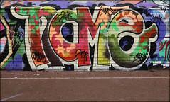 Name26 (Alex Ellison) Tags: name name26 dds smc southlondon urban graffiti graff boobs halloffame