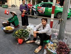 Fresh fruit (cowyeow) Tags: hanoi vietnam asia asian street urban city woman composition travel women girl girls fruit market fresh streetmarket
