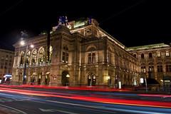 Vienna State Opera (kylewagaman) Tags: viennastateopera vienna austria wien opera building architecture österreich wienerstaatsoper wiener staatsoper operahouse europe opéra ópera traffic street city