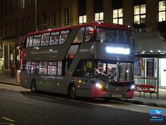 YN68EVC - Broad Quay, Bristol, February 2019. (Iveco 59-12) Tags: ctplus firstbristol firstwestofengland alexanderdennis adl enviro400city yn68evc 2932 metrobus m1 scanian280ud bristolcommunitytransport