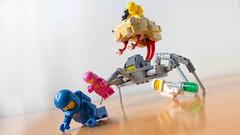 Lego Brain Monster (hachiroku24) Tags: robot alien instructions retro monster brain moc sci fi lego