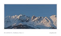 Im letzten Sonnenlicht (doro 51) Tags: nordkette tirol innsbruck a berge mountains winter gerahmt framed dorophoto 2019