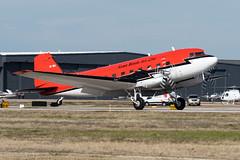 Kenn Borek Air Ltd Basler BT-67 Turbo 67 (DC-3T) (zfwaviation) Tags: kads ads addisonairport aircraft airplane plane jet aviation texas runway cfmkb bt67 dc3 turbine basler kenn borek air antarctica program fuel stop