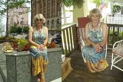 More Dreaming . . . (Laurette Victoria) Tags: dress maxidress blonde necklace laurette woman