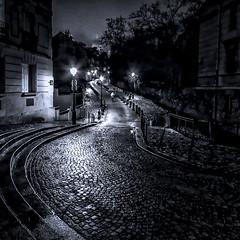 Winter night (Pedro Martínez Olivas) Tags: paris noche invierno calle