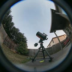 20190120_19749 (AWelsh) Tags: lunar eclipse 2019 astrophoto andrewwelsh canon5dmkiii san antonio tx telescope moon night sky stars peleng 8mm fisheye