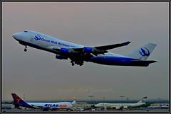 B-2433 Great Wall Airlines (Bob Garrard) Tags: 9vsfi singapore airlines cargo boeing 747412f 747 china smoke anc panc atlas air n496mc etihad n855gt