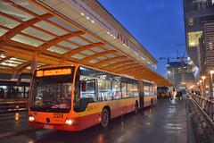 Mercedes-Benz Conecto G - 2214 - 109 - 21.12.2018 (VictorSZi) Tags: poland warsaw varsovia transport publictransport bus autobuz winter iarna nikon nikond5300 december decembrie